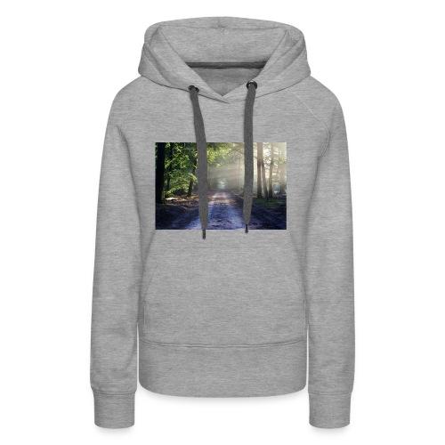 Super Ausblick im Wald Design - Frauen Premium Hoodie