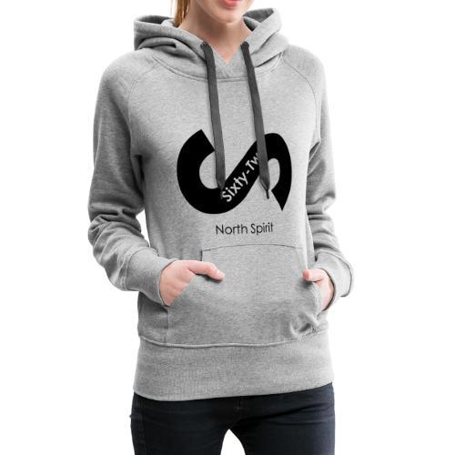 Logost premier logo de la marque lifesty Sixty-two - Sweat-shirt à capuche Premium pour femmes