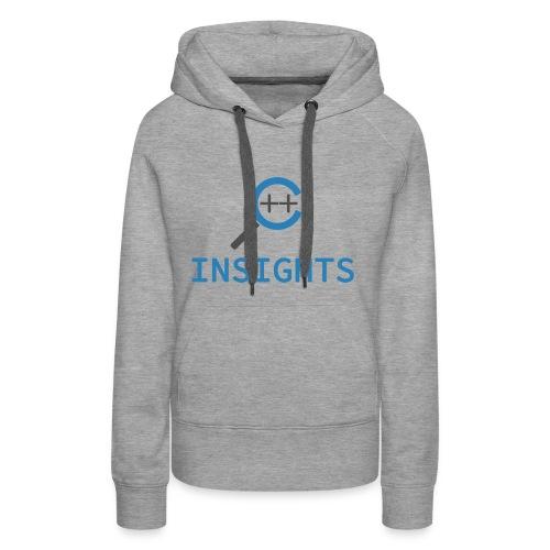 C++ Insights & Text - Frauen Premium Hoodie
