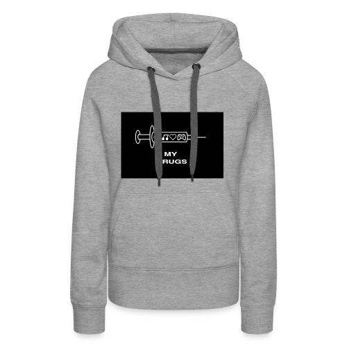 geek mania - Sweat-shirt à capuche Premium pour femmes