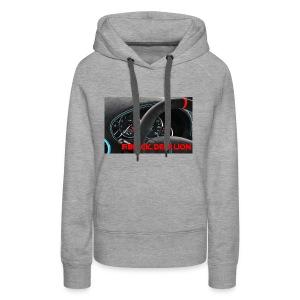 Black Deep Lion Package - Frauen Premium Hoodie