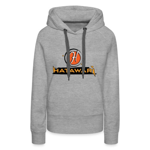 summer logo hatawari - Sweat-shirt à capuche Premium pour femmes