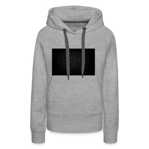 black background pattern light texture 55291 3840x - Women's Premium Hoodie