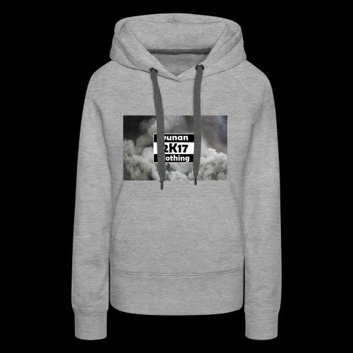 Yunan clothing 2K17 - Frauen Premium Hoodie