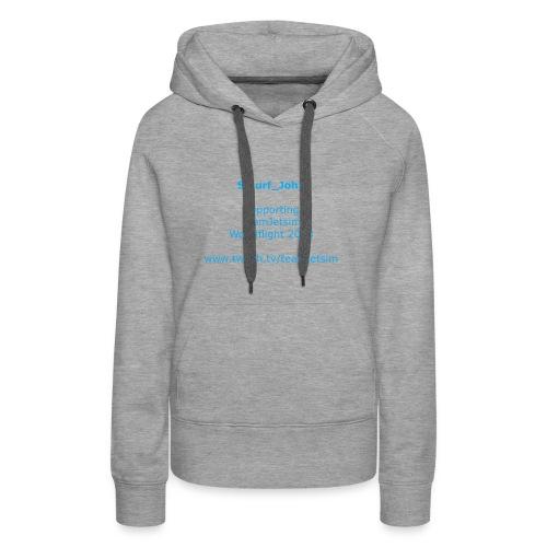Tshirtteamjet1 - Women's Premium Hoodie