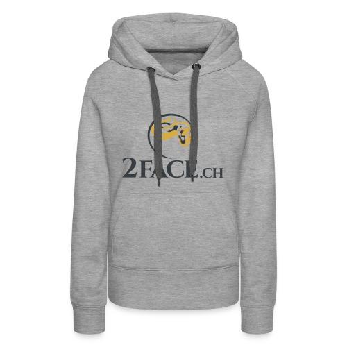 2face.ch - Frauen Premium Hoodie