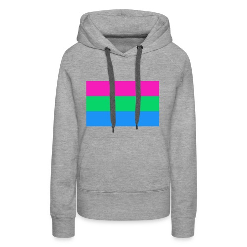 Polysexual Pride Flag - Women's Premium Hoodie