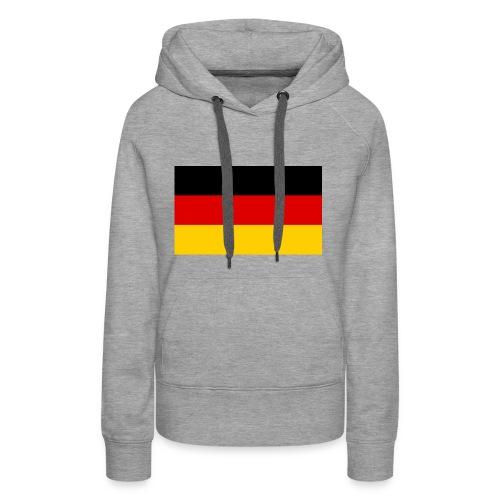 Deutsche flage - Frauen Premium Hoodie