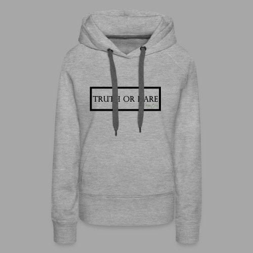 Western Truth or Dare Tee - Women's Premium Hoodie