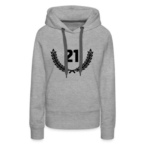 21 Guns - 21 Salutschüsse - Zahl - Frauen Premium Hoodie