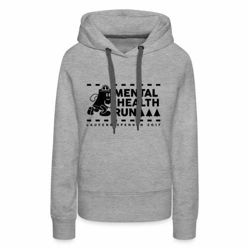 mental healt run - Frauen Premium Hoodie