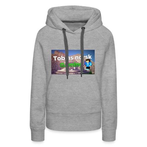 Tobias Norsk Gaming - Premium hettegenser for kvinner