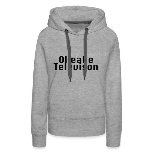 Ollealle Television - Premiumluvtröja dam