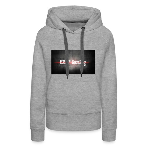 banner_mbdf_gaming_echt - Vrouwen Premium hoodie