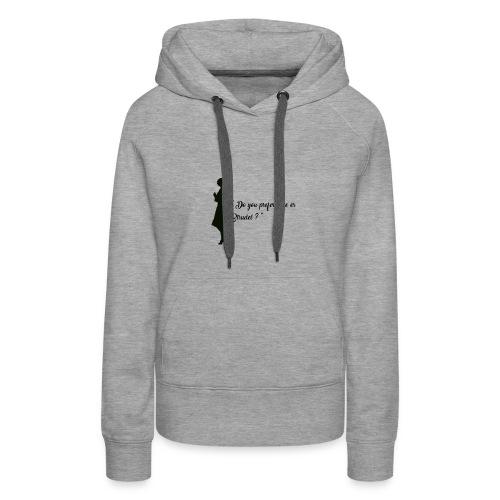 Queenie - Sweat-shirt à capuche Premium pour femmes