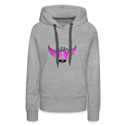 JSA keyhole collection pink - Premium hettegenser for kvinner