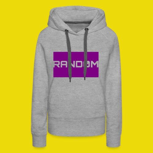 Random Logo - Women's Premium Hoodie