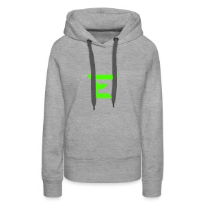 E for Emerald - Women's Premium Hoodie