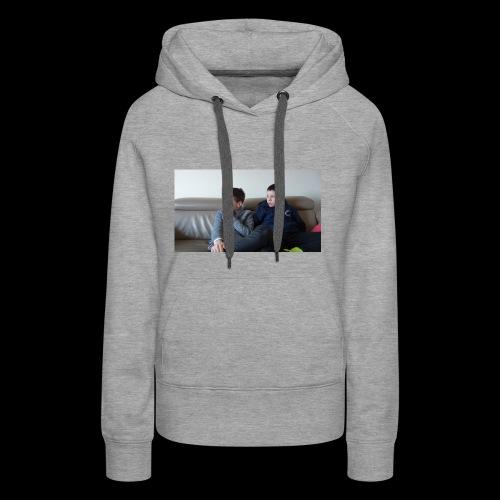 t-shirt de feyskes hd - Sweat-shirt à capuche Premium pour femmes