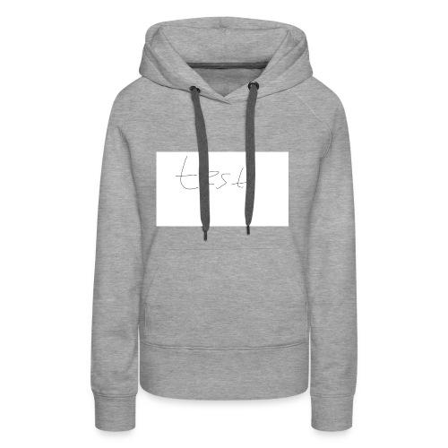 testshirt123 - Frauen Premium Hoodie