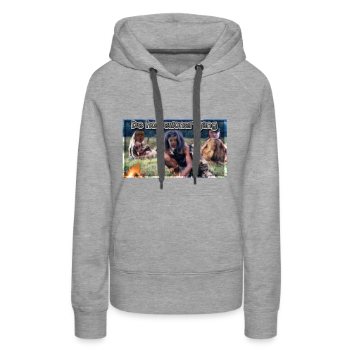 holbewoner gang - Vrouwen Premium hoodie