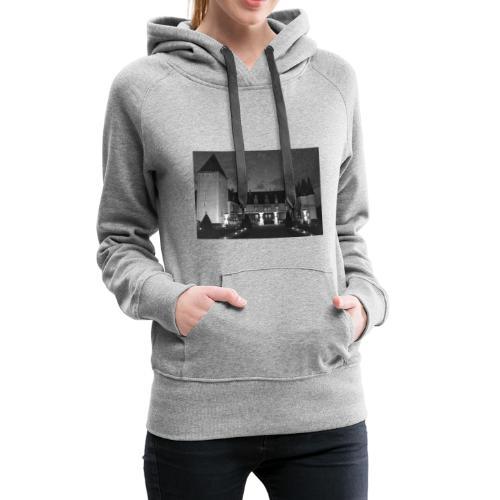 Chrome castle - Sweat-shirt à capuche Premium pour femmes