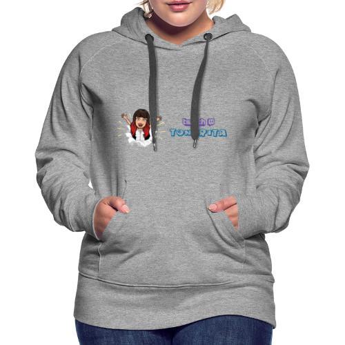 Logo Tongrita - Sudadera con capucha premium para mujer
