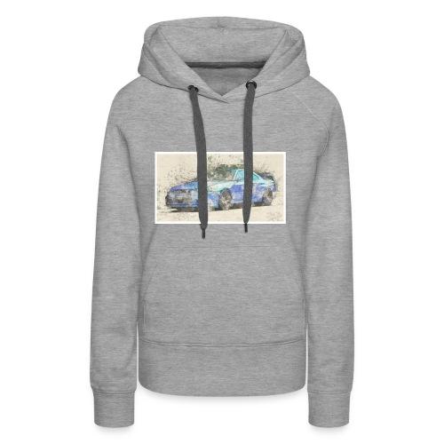 GTR R34 watercolors - Frauen Premium Hoodie