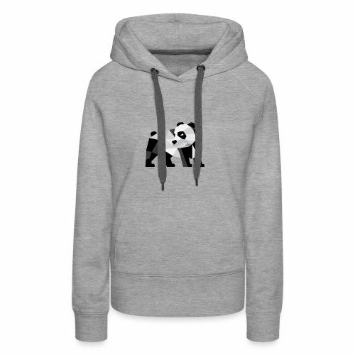 PANDA Modern - Frauen Premium Hoodie