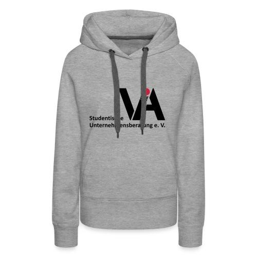 VIA Logo mit Schriftzug - Frauen Premium Hoodie