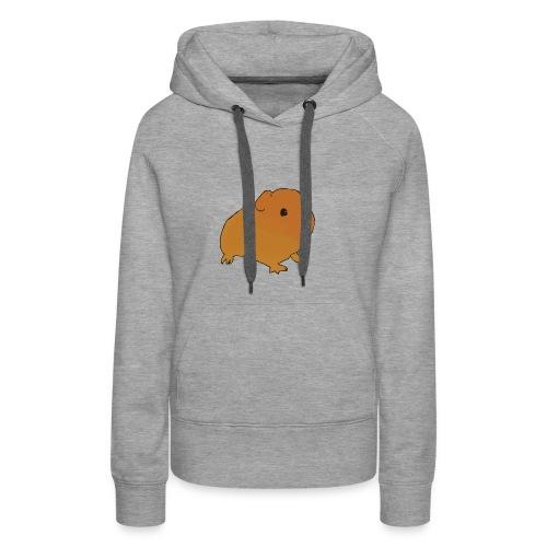 Team Guinea pigs - Sweat-shirt à capuche Premium pour femmes