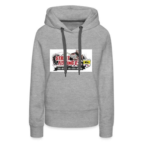 StreetFishing DK - Sweat-shirt à capuche Premium pour femmes