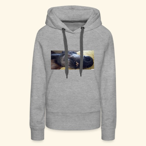 Greyhound head - Women's Premium Hoodie