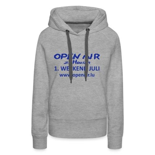 Open Air Hosingen - Frauen Premium Hoodie