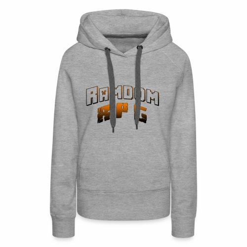 Ramdom R P G - Sweat-shirt à capuche Premium pour femmes