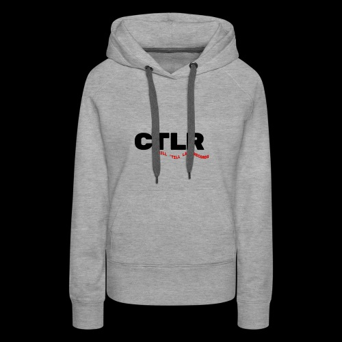 CHILL TIL LATE RECORDS - Women's Premium Hoodie