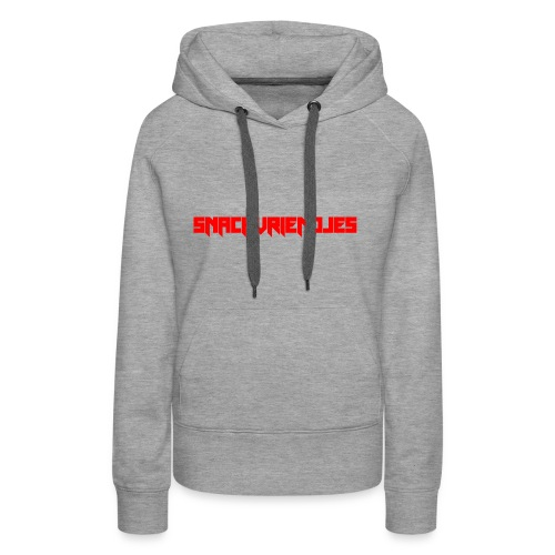 Snackvriendjes Hoodie - Vrouwen Premium hoodie