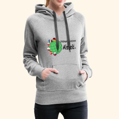 Städtepartnerschaft Alsfeld - Frauen Premium Hoodie