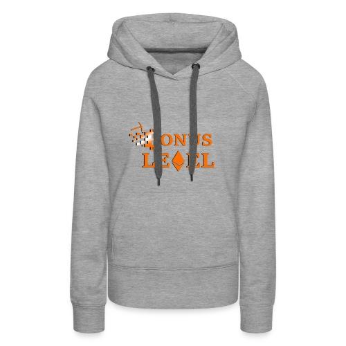 Bonus Level Logo - Frauen Premium Hoodie