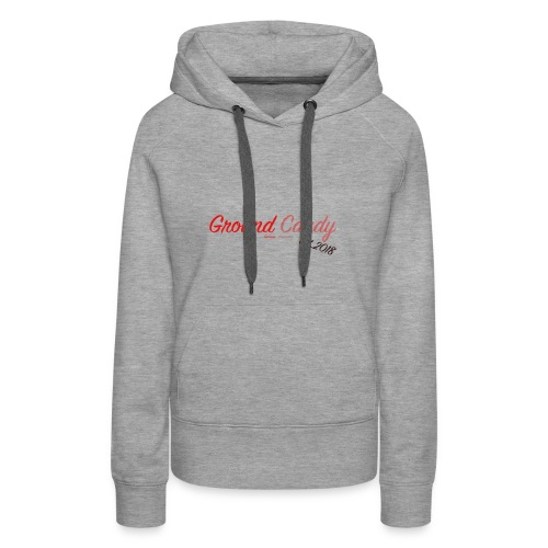 Ground Candy Logo - Frauen Premium Hoodie
