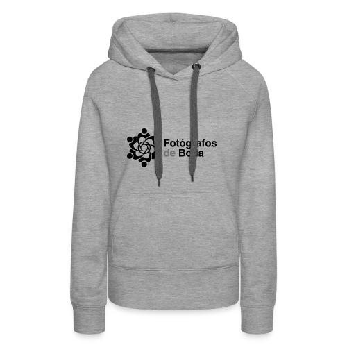 El logo clasico del colectivo FdB - Sudadera con capucha premium para mujer