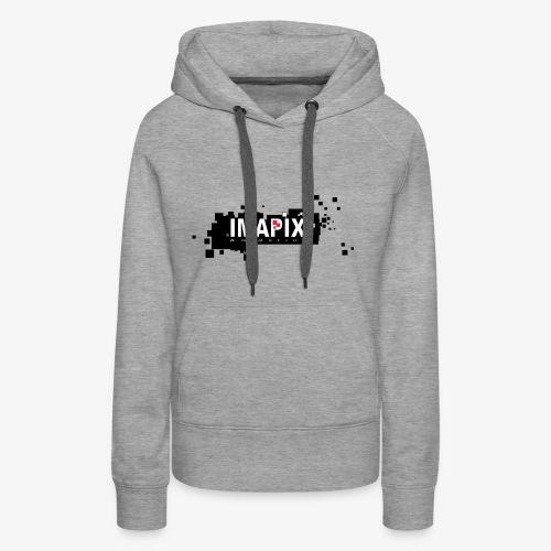 IMAPIX ANIMATION Rectro02 - Sweat-shirt à capuche Premium pour femmes