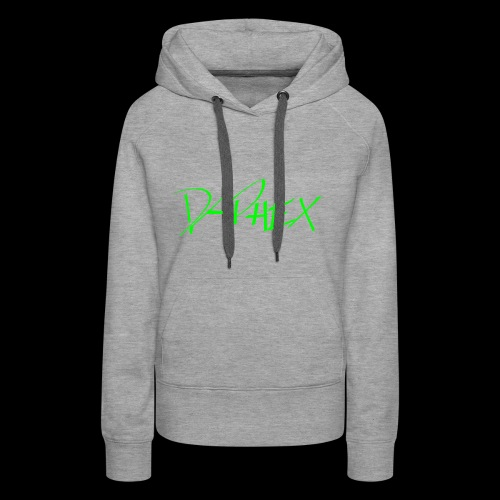 DAPHEX neongreen - Frauen Premium Hoodie