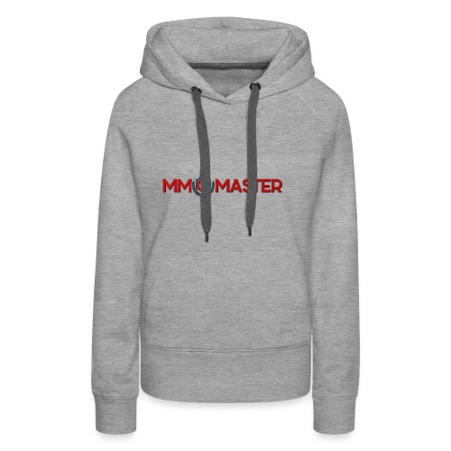 logo mmomaster - Frauen Premium Hoodie