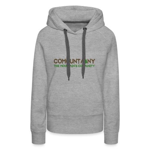 COMOUNTAINY - Sweat-shirt à capuche Premium pour femmes