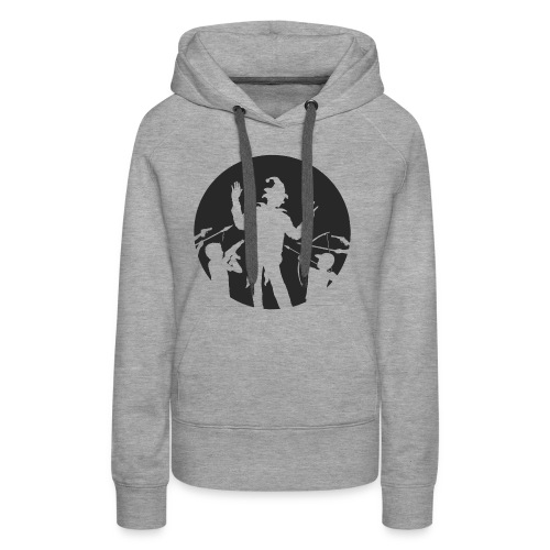 Le Clown - Sweat-shirt à capuche Premium pour femmes