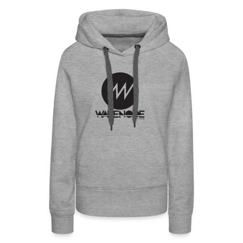 WareNode LOGO - Felpa con cappuccio premium da donna