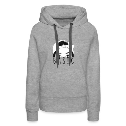 Basic. - Frauen Premium Hoodie
