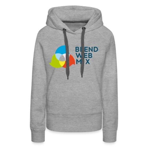 BlendWebMix - Sweat-shirt à capuche Premium pour femmes