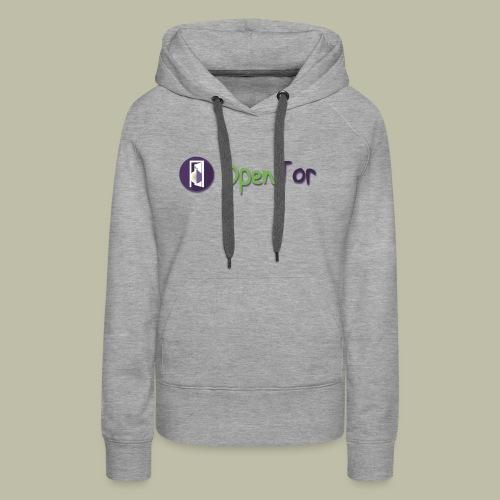 OpenTor Badge - Women's Premium Hoodie